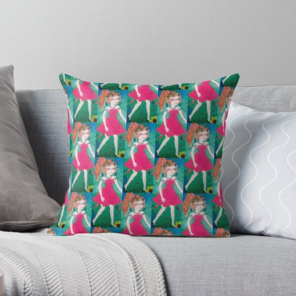 Fairy items, art, child design Throw Pillow
