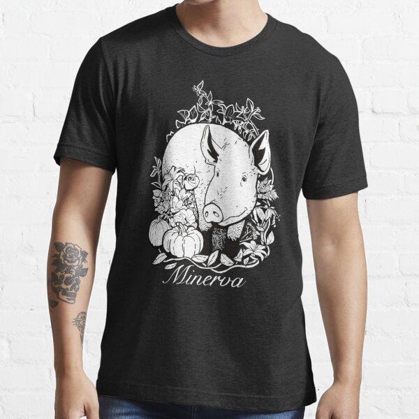 Minerva on Black Essential T-Shirt