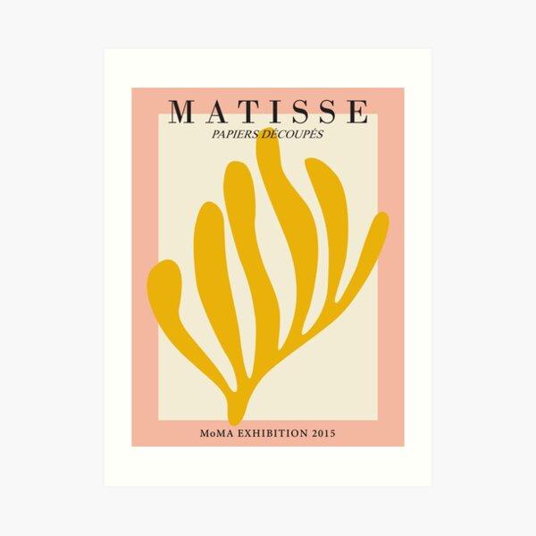 Henri Matisse - Leaf Cutout - Papiers Découpés - New Art Print