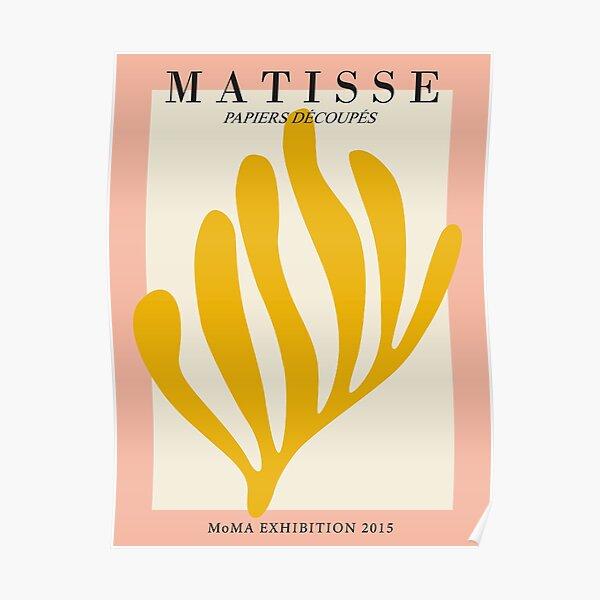 Henri Matisse - Découpe de feuilles - Papiers Découpés - Neuf Poster