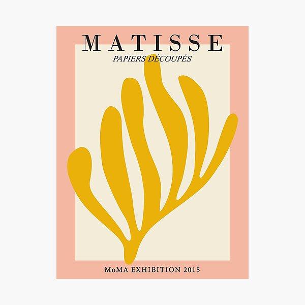 Henri Matisse - Leaf Cutout - Papiers Découpés - New Photographic Print