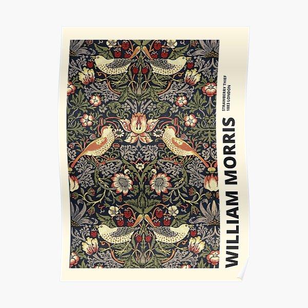 William Morris - Strawberry Thief Poster