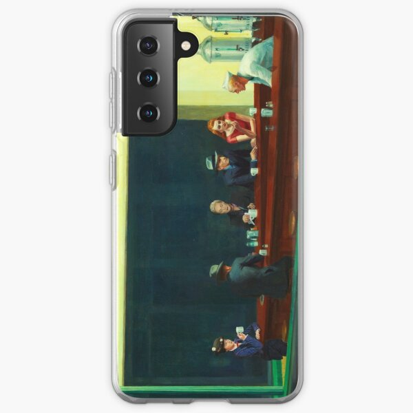 Nighthawks - Mary Poppins and Clarisse Renaldi Samsung Galaxy Soft Case