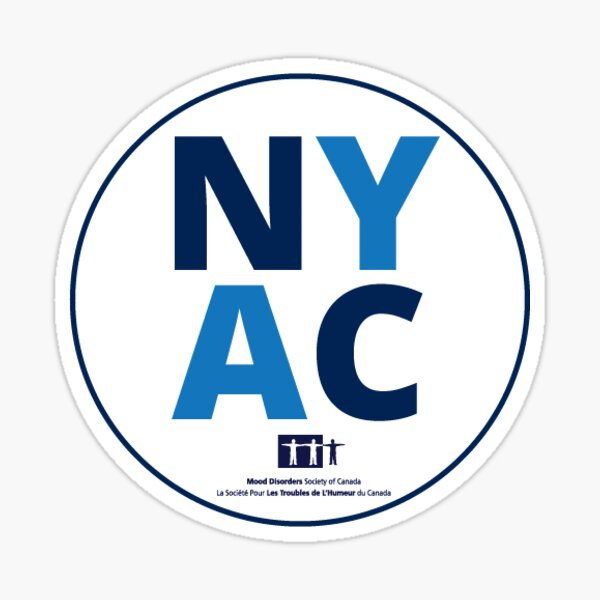 NYAC Logo Sticker