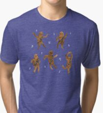 Wookie Dance Party Tri-blend T-Shirt