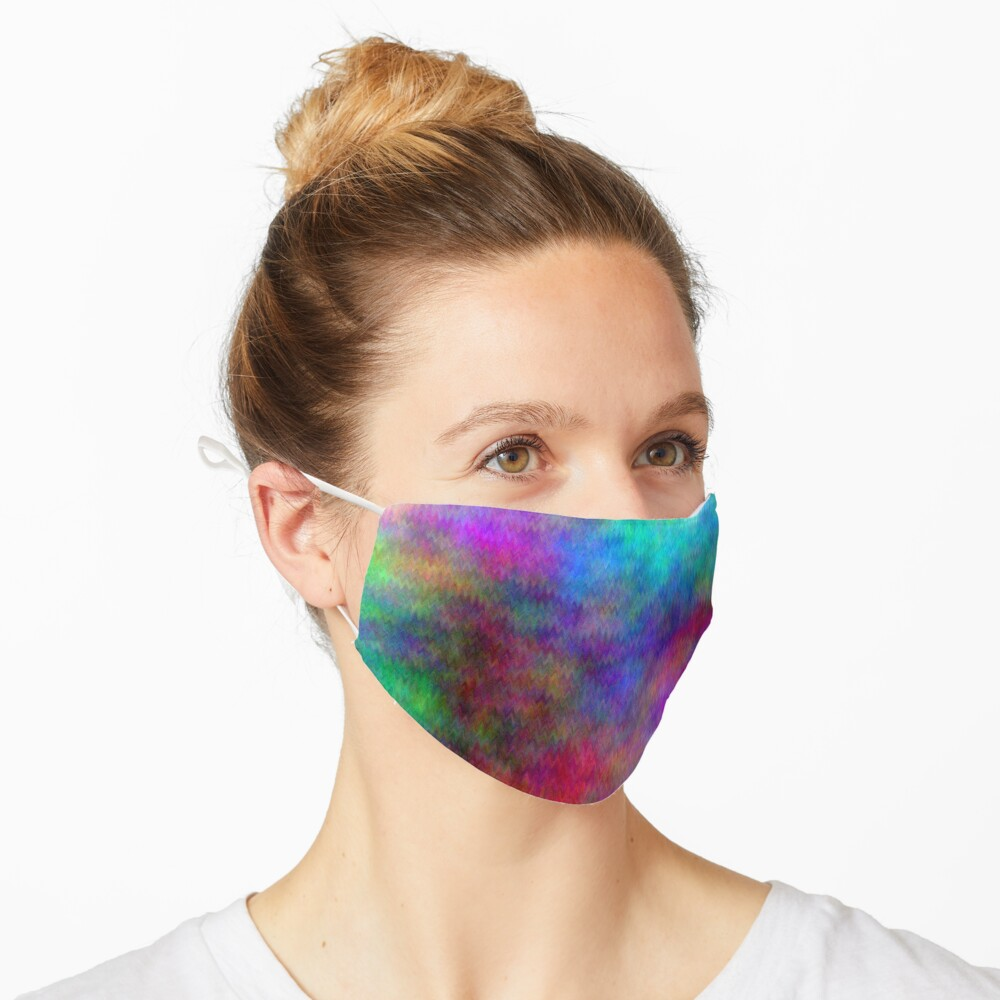 Nebula - Dreamy Psychedelic Space Inspired - Abstract Art Mask