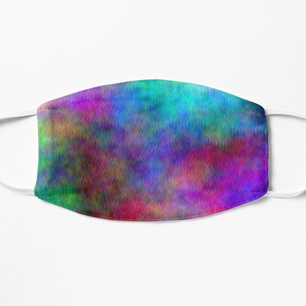 Nebula - Dreamy Psychedelic Space Inspired - Abstract Art Flat Mask