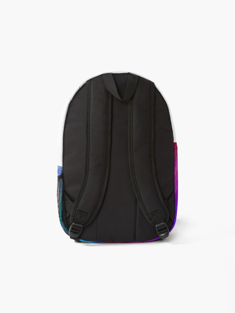 Alternate view of Nebula - Dreamy Psychedelic Space Inspired - Abstract Art Backpack