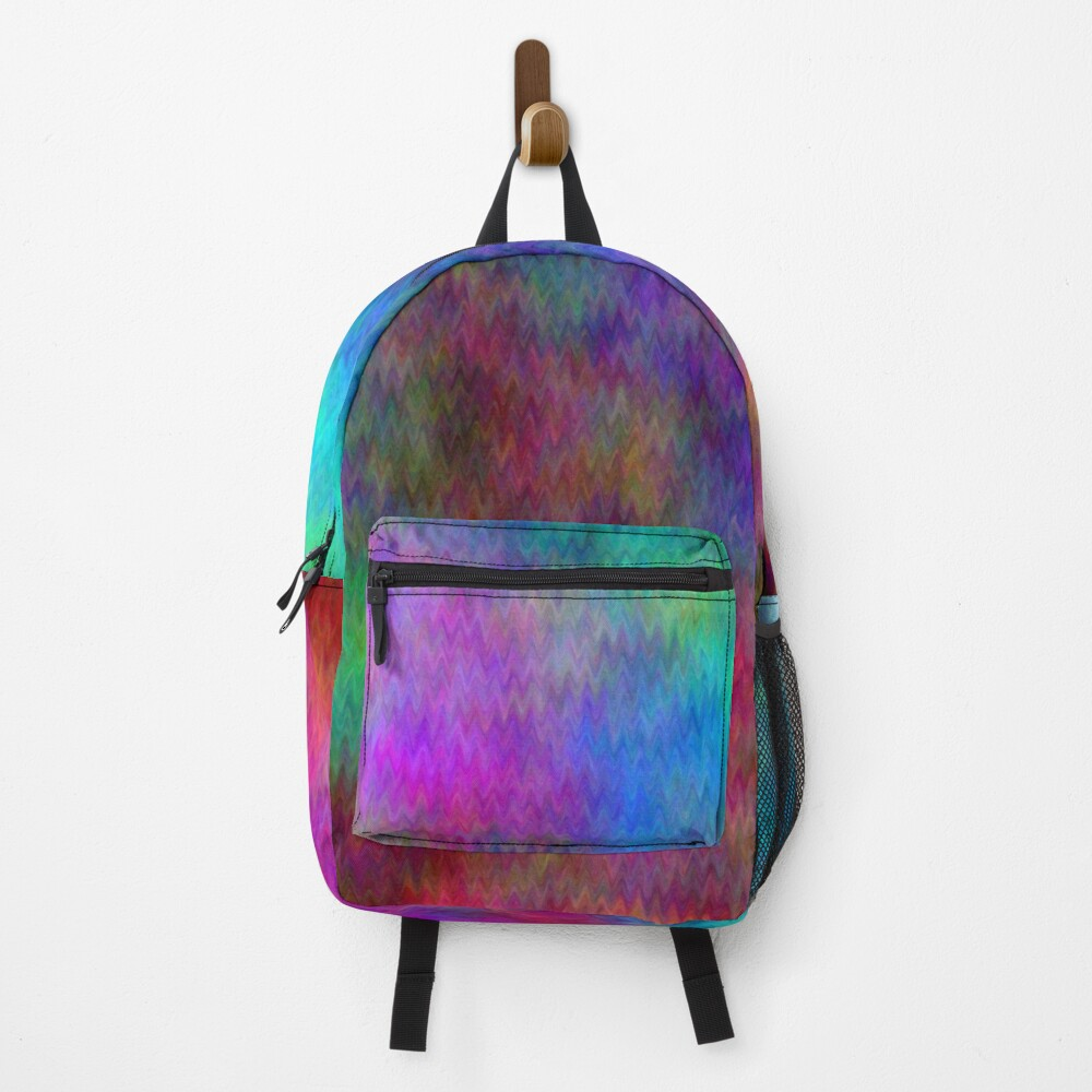 Nebula - Dreamy Psychedelic Space Inspired - Abstract Art Backpack