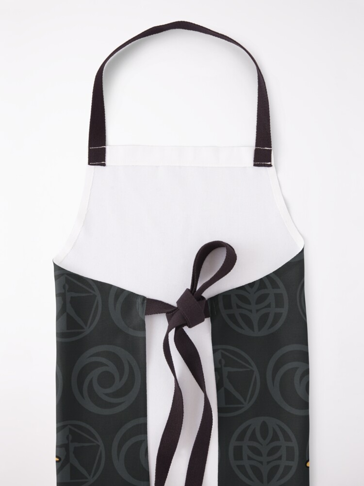 Alternate view of Figment BLK SSE Icons Apron