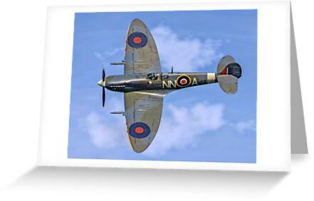 Spitfire LF.Vc AR501/NN-A G-AWII by Colin Smedley