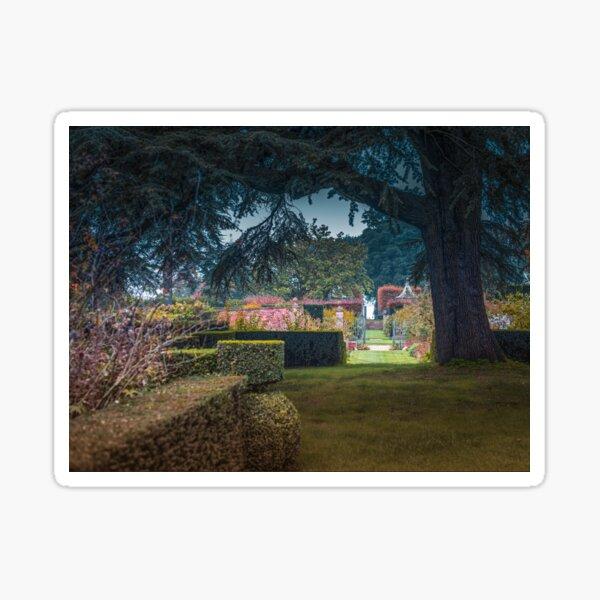 Hidcote Gardens In Autumn Sticker