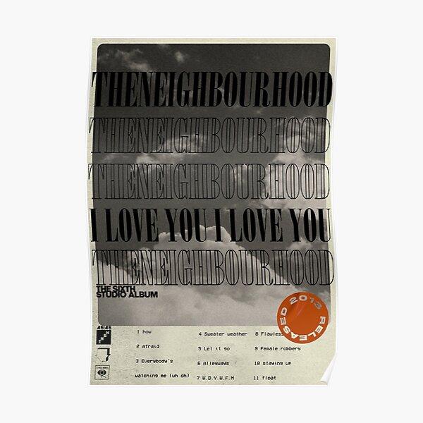 El álbum del barrio: te amo (mínimo) Póster