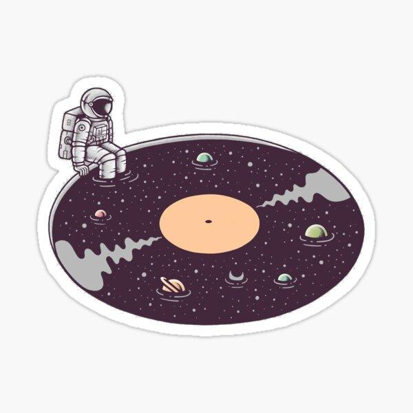 Cosmic sound! Sticker