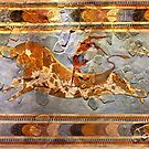 Minoan Times - Dancing with the bulls by Hercules Milas