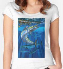Wahoo Haven Tailliertes Rundhals-Shirt