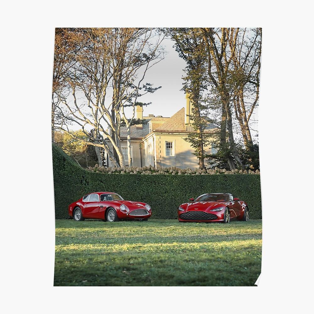 Legacy Act Aston Martin Dbs Gt Zagato Sticker Von Ncraigphoto Redbubble