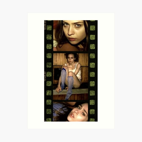 Fiona Apple Criminal Film Reel Art Print