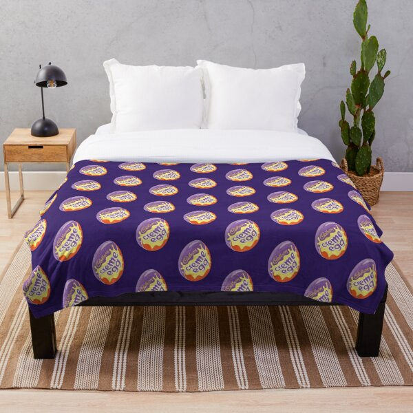 Egg Throw Blankets Redbubble