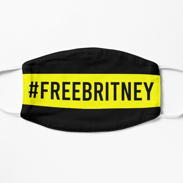Free Britney Flat Mask