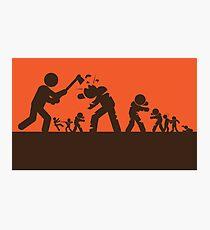 Zombie - Survival Photographic Print