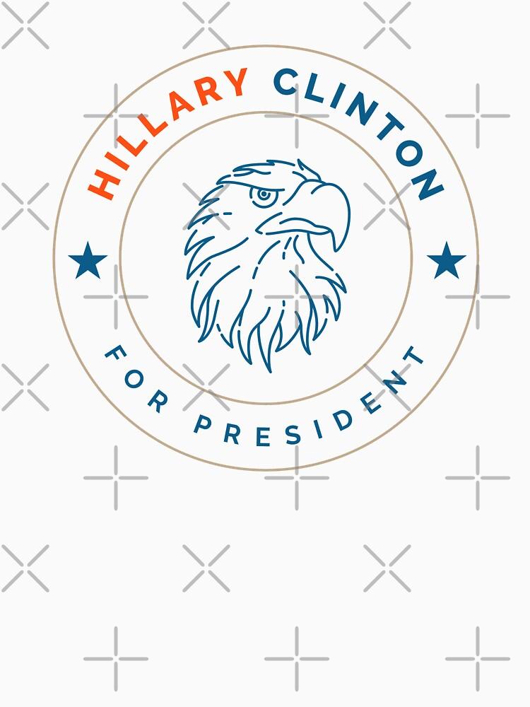 Hillary Clinton Eagle by depresident