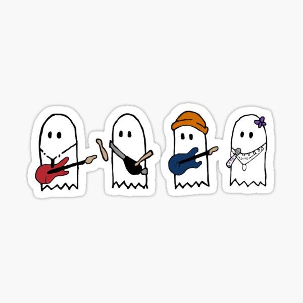 julie y los fantasmas fantasmas Pegatina