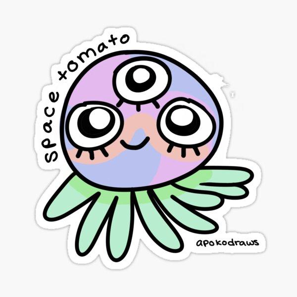 Space Tomato Sticker