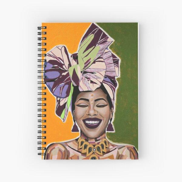 Being Happy Spiral Notebook