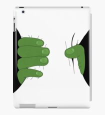 Grabbed by the Hulk iPad Case/Skin