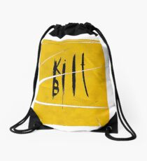 kill bill Drawstring Bag