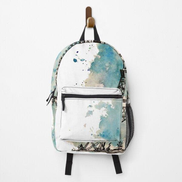 Eiffel Tower Watercolour Backpack