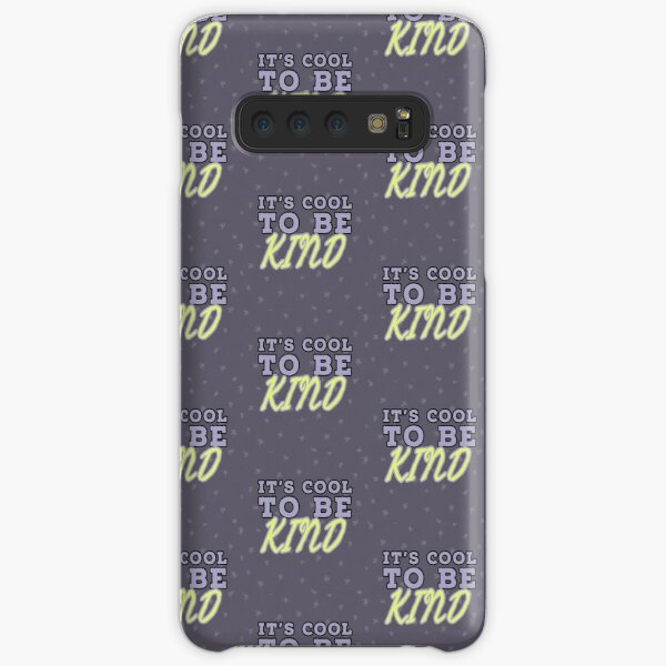 It's cool to be kind. Samsung Galaxy Snap Case