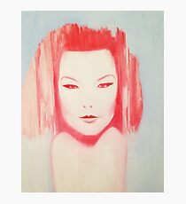 BJORK Portrait Photographic Print