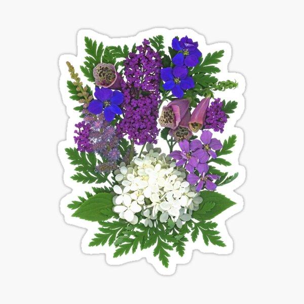 Hydrangea Bouquet Sticker