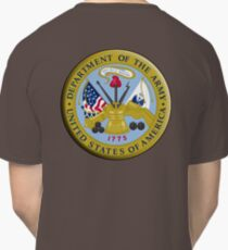 American Army, ARMY, ARMIES, USA, United States Army, Emblem of the United States, Department of the Army Classic T-Shirt