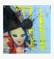 Bjork - Painting by William Wright Photographic Print