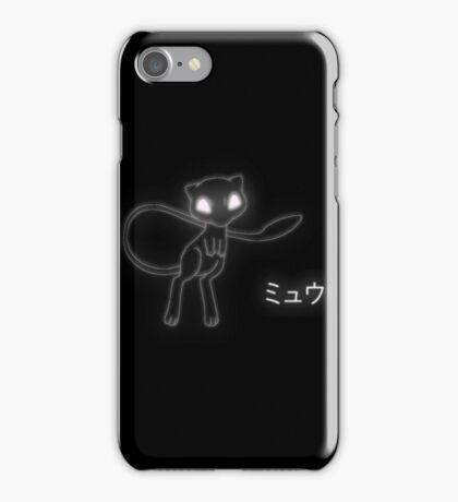 mew ネオン iPhone Case/Skin