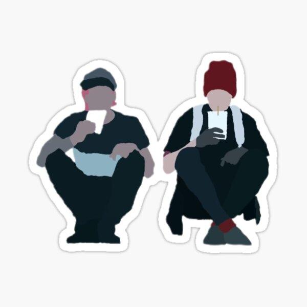 Tyler and Josh  Sticker