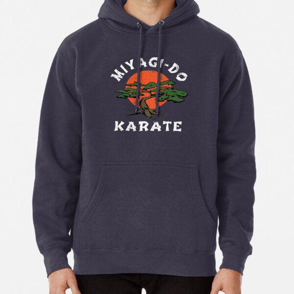 Vintage Looking Miyagi Do - HD Graphic - Professionally Designed Pullover Hoodie
