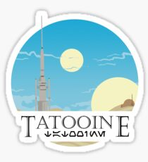 Tatooine Sticker
