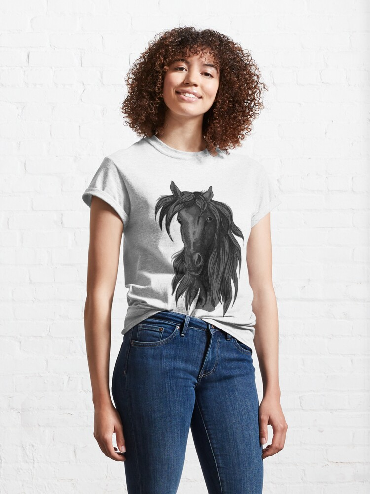 Alternate view of Luxurious horses Classic T-Shirt