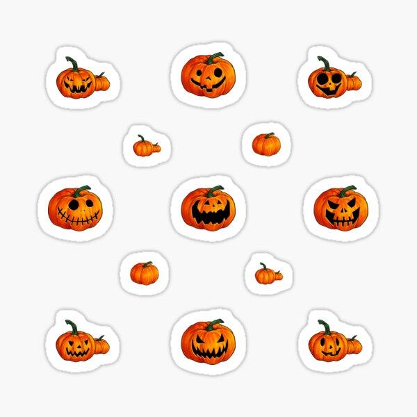 Jack O Lanterns Galore! Sticker