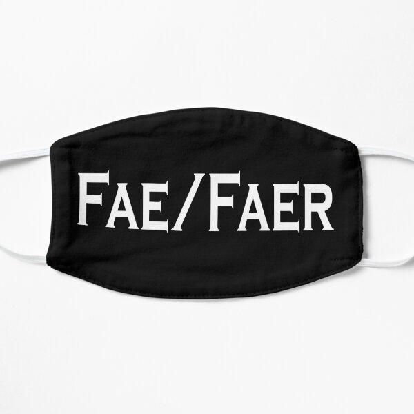 Fae/Faer Pronouns Flat Mask
