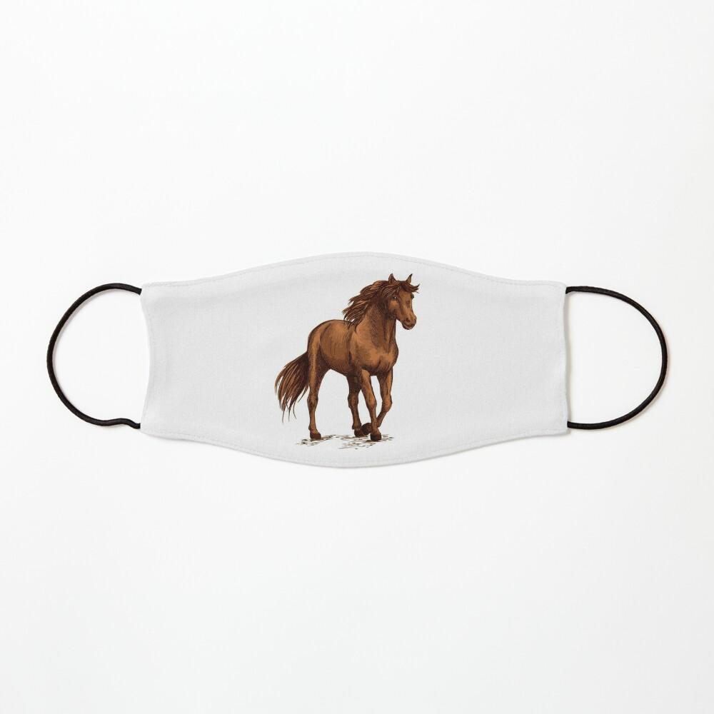 Luxurious horses Mask