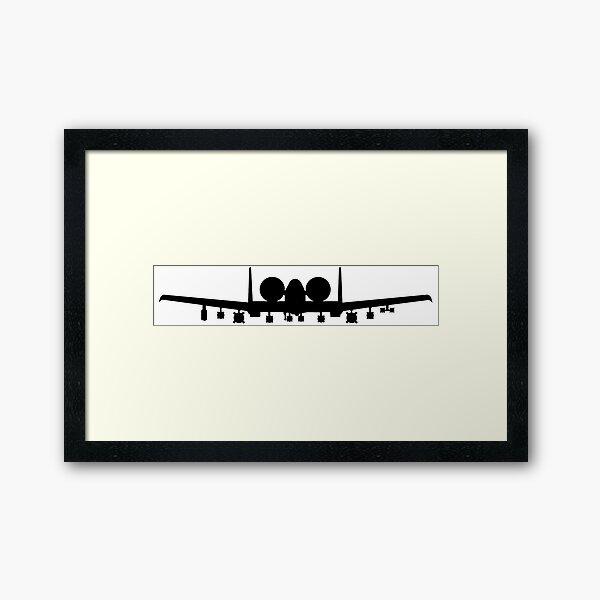 A-10 Framed Art Print