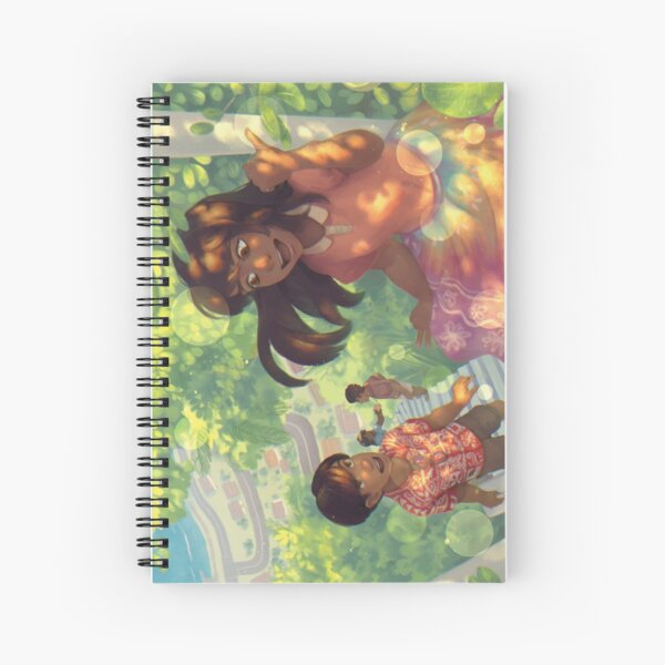 The Light Left Under Trees Spiral Notebook