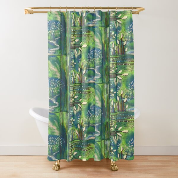 Nature and Energy Shower Curtain