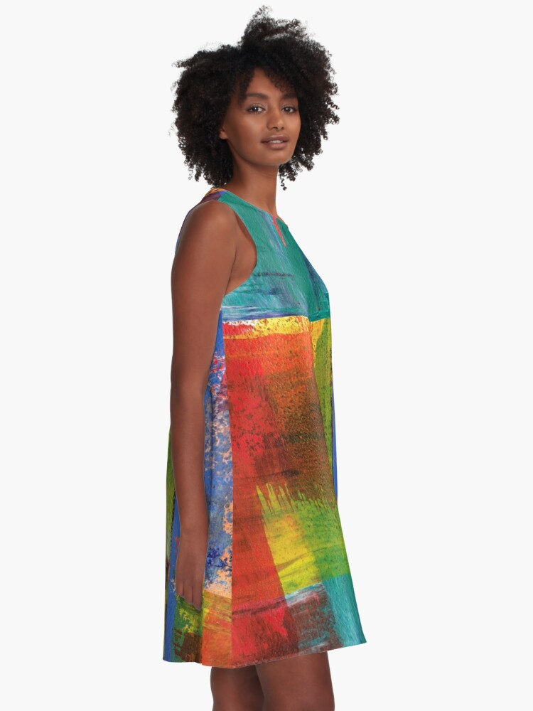 Alternate view of Bold Nuance III A-Line Dress