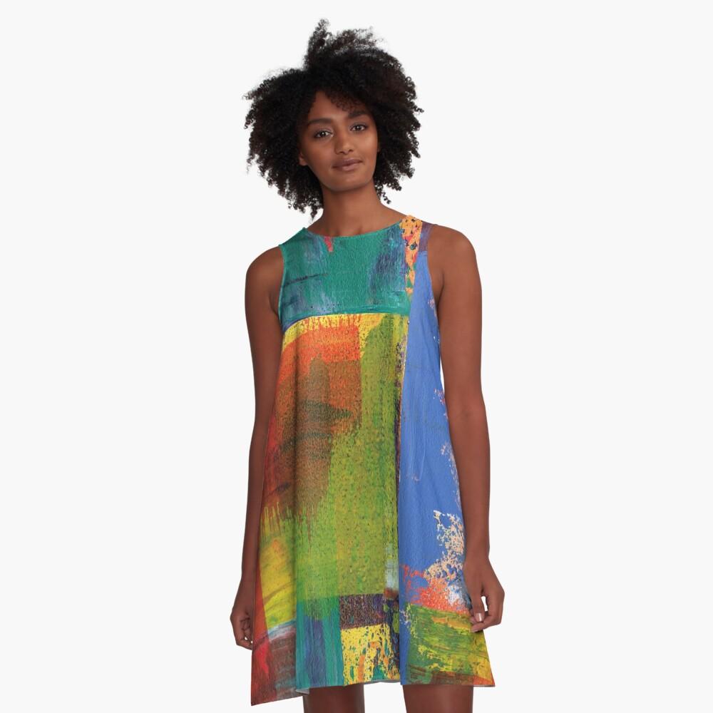Bold Nuance III A-Line Dress